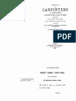 Manual Del Carpintero y Ebanista