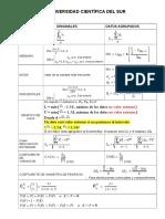 1 - Formulario de Estadísticas Descriptivas