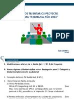 Charla Reforma Tributaria Luis Catrilef
