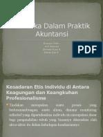 Isu Etika Dalam Praktik Akuntansi