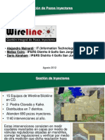 Gestion de Pozos Inyectores Sistema de Wire Line