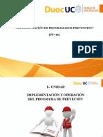 IPP- Implementación de Programas de Prevención