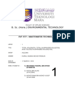 EVT577 Wastewater Exp1