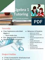 algebra 1 tutoring pwrpnt
