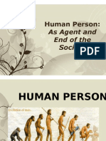 II. 1-2. Human Person as Agent and End of Society