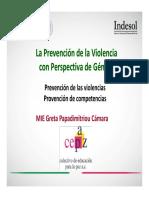 Cómo Contribuye La Perspectiva de Género en La Prevención y Atención de La Violencia Hacia Las Mujeres Desde Las OSC