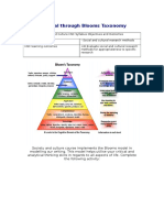 blooms taxonomy activity 1