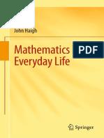 Mathematics in Everyday Life - 1st Edition (2016)