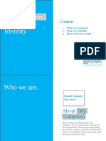 Branding - Develop a Brand Identity Manual Template