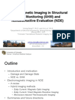 Electromagnetic Imaging in Structural Health Monitoring (SHM) and Nondestructive Evaluation (NDE)