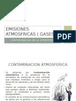 Emisiones Atmosfricas ( Gases )
