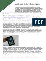Ábrete Una Ventana Al Mundo De Las Tabletas Digitales