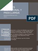 diabetes gestacional y preeclamsia