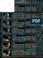 MK9 All Cards