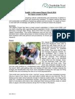 Monthly Achievement Report March Jalova