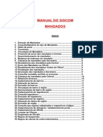 Manual sobre mandados