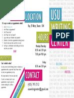 writing center brochure final  2