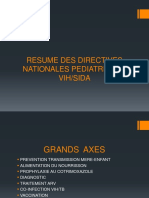 Resume Des Directives Nationales Pediatriques-2