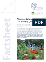 Allotments Law & Community Growing