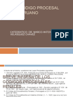 Nuevo Código Procesal Penal Peruano