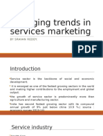 Emerging Trends in Services Marketing.