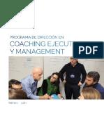 Coaching Ejecutivo y Management