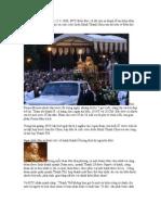 ĐTC BIỂN ĐỨC 16 chủ sự Thánh lễ MÌNH MÁU THÁNH CHÚA năm 2008