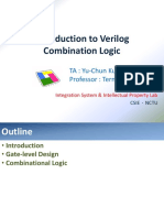 Introduction to Verilog and Combinational Logicntroduction to Verilog and Combinational Logic