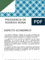 Presidencia de Rodrigo Borja