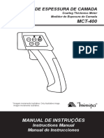 (Medidor de Espesor de Pintura)MCT-400-1102-BR