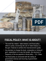Fiscal Policy Ppt