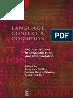 Dölling etc., Language, Context, and Cognition