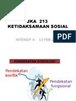 Teori Fungsionalisma - Intensif Feb 2014