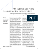Research With Children and Young People- Practical Considerations