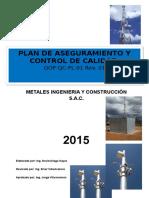 Plan de Calidad 2015