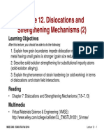 MSE 3300-Lecture Note 12-Chapter 07 Dislocation and Strengthening Mechanisms