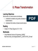 MSE 3300-Lecture Note 16-Chapter 10 Phase Transformations