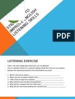 Strategies to Improve English Listening Skills