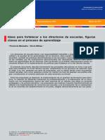 91 DPP R Ideas Para Fortalecer a Los Directores de Escuelas Figuras Claves en El Proceso de Aprendizaje Mezzadra Bilbao 2011
