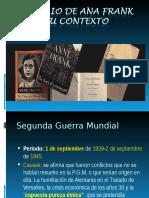 El Diario de Ana Frank y Su Contexto