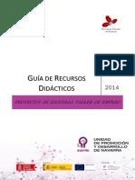 Guía de Recursos Didácticos UPD INAFRE III