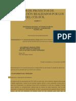 PROYECTOS DE METODOS