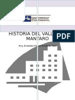Hiiistoriaa Del Valle del mantaro