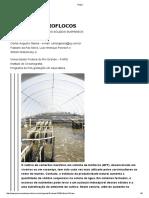 Bioflocos Controle Dos Solidos Em Suspensão