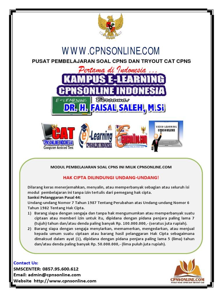 1604 EBook Penunjang Tesaurus Cpnsonlinecom