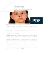 Blefaroconjuntivitis