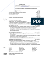 secondary ed resume copy