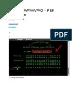 Cracking WPAWPA2 – PSK Encryption