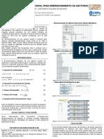 Banner modelo computacional para cálculo de adutoras
