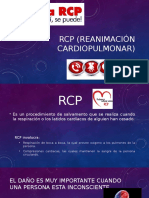 RCP (Reanimación cardiopulmonar)
